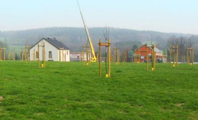 Baugebiet mit Streuobstwiese Kleinolbersdorf/Altenhain Chemnitz